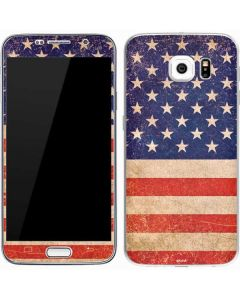 Distressed American Flag Galaxy S7 Skin