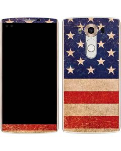 Distressed American Flag V10 Skin