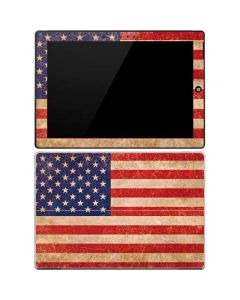 Distressed American Flag Surface 3 Skin