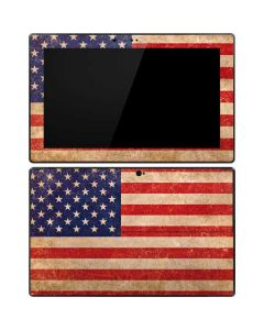 Distressed American Flag Surface Pro Tablet Skin