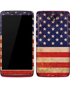 Distressed American Flag Motorola Droid Skin