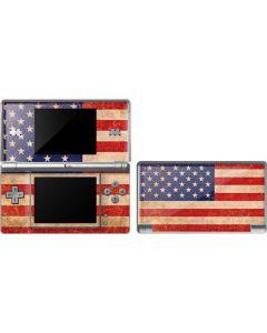 Distressed American Flag DS Lite Skin