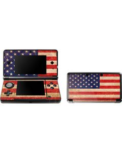 Distressed American Flag 3DS (2011) Skin