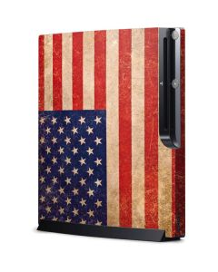 Distressed American Flag Playstation 3 & PS3 Slim Skin