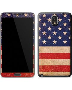 Distressed American Flag Galaxy Note 3 Skin