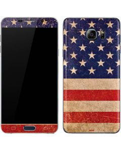 Distressed American Flag Galaxy Note5 Skin