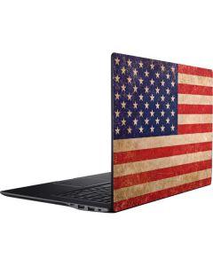 Distressed American Flag Ativ Book 9 (15.6in 2014) Skin