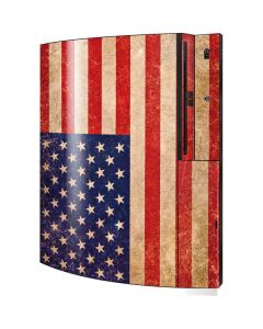 Distressed American Flag Playstation 3 & PS3 Skin