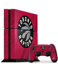 Toronto Raptors Logo PS4 Console and Controller Bundle Skin