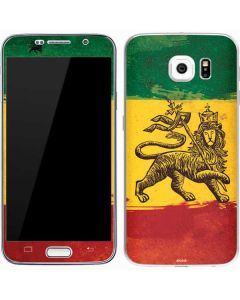 The Lion of Judah Rasta Flag Galaxy S7 Skin