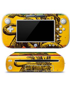The Lion of Judah Rasta Flag Wii U (Console + 1 Controller) Skin
