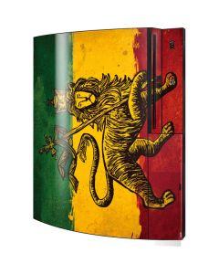 The Lion of Judah Rasta Flag Playstation 3 & PS3 Skin