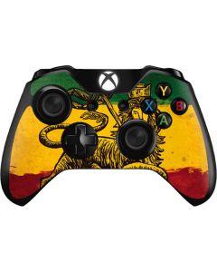 The Lion of Judah Rasta Flag Xbox One Controller Skin