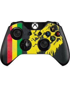 Vertical Banner - Lion of Judah Xbox One Controller Skin