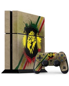 Lion of Judah Shield PS4 Console and Controller Bundle Skin