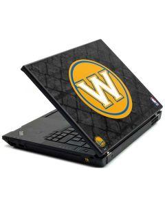 Golden State Warriors Dark Rust Lenovo T420 Skin