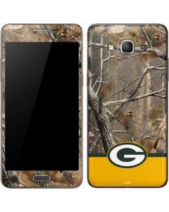 Realtree Camo Green Bay Packers Galaxy Grand Prime Skin