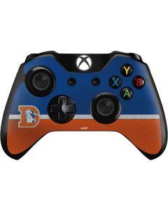 Denver Broncos Vintage Xbox One Controller Skin