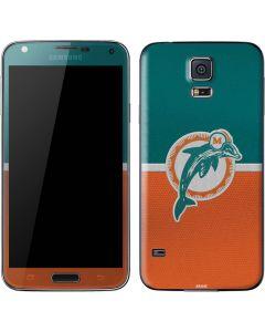 Miami Dolphins Vintage Galaxy S5 Skin