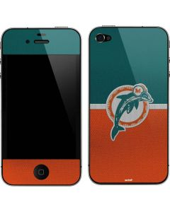 Miami Dolphins Vintage iPhone 4&4s Skin