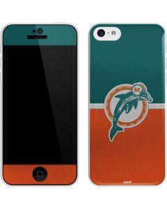 Miami Dolphins Vintage iPhone 5c Skin