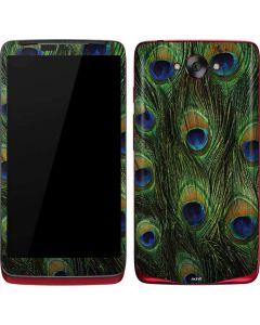 Peacock Motorola Droid Skin