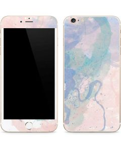 Rose Quartz & Serenity Splatter iPhone 6/6s Plus Skin