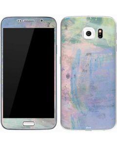 Rose Quartz & Serenity Abstract Galaxy S7 Skin