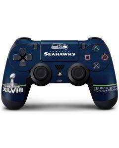 Seattle Seahawks Super Bowl XLVIII PS4 Controller Skin