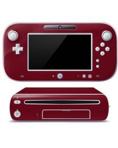 Burgundy Wii U (Console + 1 Controller) Skin
