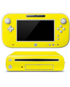 Yellow Wii U (Console + 1 Controller) Skin