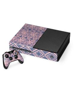 Tribal Elephant Pink Xbox One Console and Controller Bundle Skin