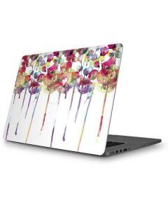 Painted Flowers Apple MacBook Pro Skin