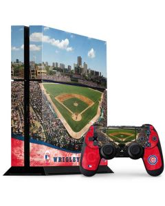 Wrigley Field - Chicago Cubs PS4 Console and Controller Bundle Skin