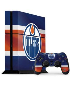 Edmonton Oilers Jersey PS4 Console and Controller Bundle Skin