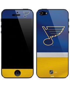 St. Louis Blues Jersey iPhone 5/5s/SE Skin
