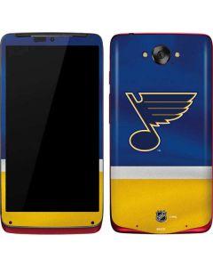 St. Louis Blues Jersey Motorola Droid Skin