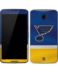 St. Louis Blues Jersey Google Nexus 6 Skin
