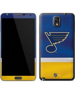 St. Louis Blues Jersey Galaxy Note 3 Skin