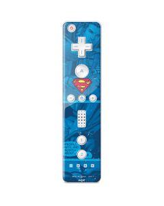Superman Logo Wii Remote Controller Skin