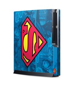 Superman Logo Playstation 3 & PS3 Slim Skin