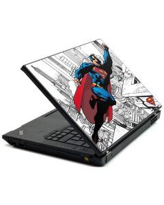 Flying Superman Lenovo T420 Skin