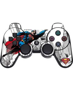 Flying Superman PS3 Dual Shock wireless controller Skin