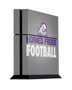 TCU Horned Frogs Football PS4 Console Skin