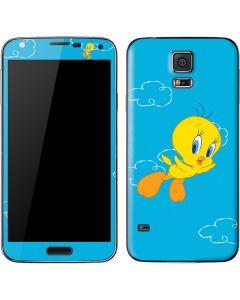 Tweety Bird Flying Galaxy S5 Skin