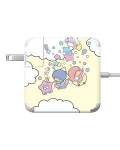 Little Twin Stars Floating Apple Charger Skin