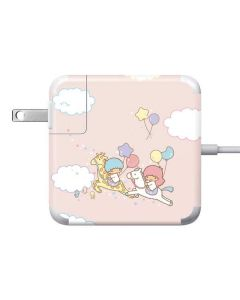 Little Twin Stars Riding Apple Charger Skin