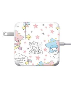 Little Twin Stars Shooting Star Apple Charger Skin