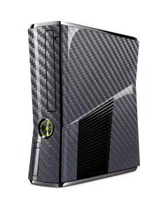 Silver Carbon Fiber Xbox 360 Slim (2010) Skin