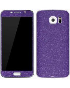Diamond Purple Glitter Galaxy S7 Skin